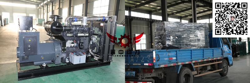250kw上柴柴油发电机
