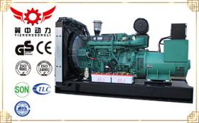 国三沃尔沃350kw柴油发电机组