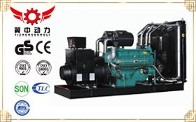 300千瓦申动柴油发电机组